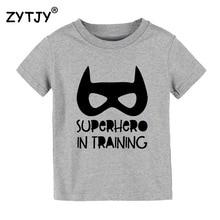 Детская футболка с принтом супергероя детская футболка для мальчиков и девочек, одежда для малышей Забавные футболки Tumblr, CZ-129
