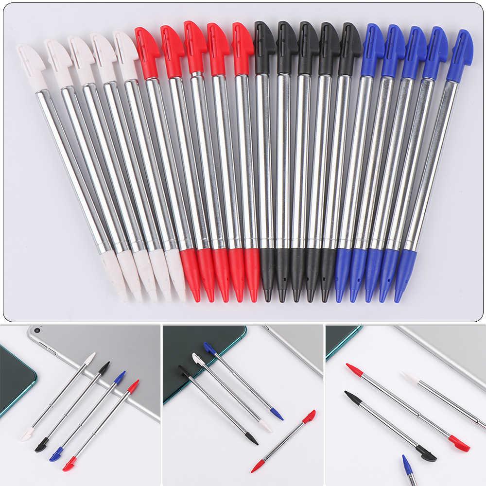 Nueva llegada precisión 3 DSLL/XL Metal retráctil pluma 3 DSXL/LL lápiz capacitivo 3DSLL Touch Pen Accesorios inteligentes