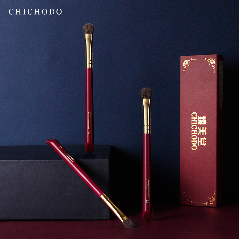 CHICHODO makeup brush-Luxurious Red Rose series-high quality horse&squirrel hair eyeshadow brush-natural hair cosmetic penbeauty
