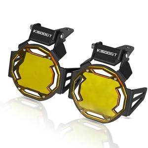 Image 3 - Motorcycle Flipable Fog light Protector Guard Lamp Cover For BMW K1600GT K 1600GT K1600GTL K1600 GTL K1600B Fog Light Lamp Cover