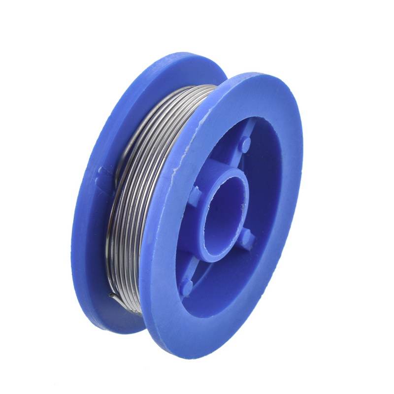 Rosin Roll Flux Solder Wire Reel 0.8mm Tin Lead Rosin Core Solder Wire Approx. 38x11mm Flux Welding Repair Tools
