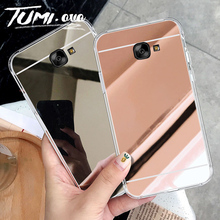 Роскошный мягкий чехол из ТПУ с зеркалом для samsung Galaxy A3 A5 A7 J1 J3 J5 J7 A6 A8 A9 J4 J6 плюс для телефона Grand Prime чехол s