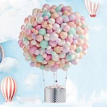 5pcs 10 inch Thicken Macaron balloons birthday Wedding Party Round Helium Balloon Decoration