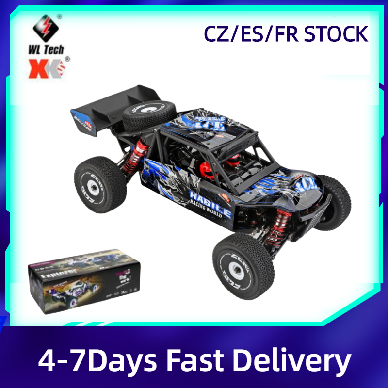 New Wltoys 124018 RC Car 1:12 2.4G 4WD RC Off-road Crawler RTR Electric 60Km/h High Speed Climbing Car Model Toy VS Wltoys144001