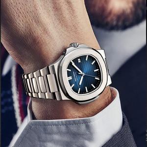 Image 5 - DIDUN חמה למעלה marque דה לוקס montre hommes automatique מצב en acier inoxydable mâle horlogemain 2019