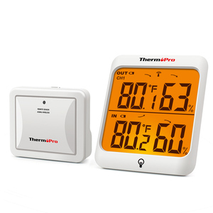 Image 1 - ThermoPro TP63A 60M Wireless Indoor Outdoor Weather Station Hygrometer Thermometer Digital Humidity Thermometer With Backlight