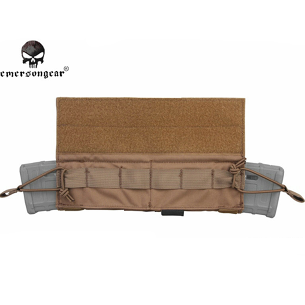 Image 4 - emersongear Emerson Side Pull Magazine Pouch M4 Rifle Molle Tactical Mag Pouch Hook&Loop Combat Gear-in Pouches from Sports & Entertainment