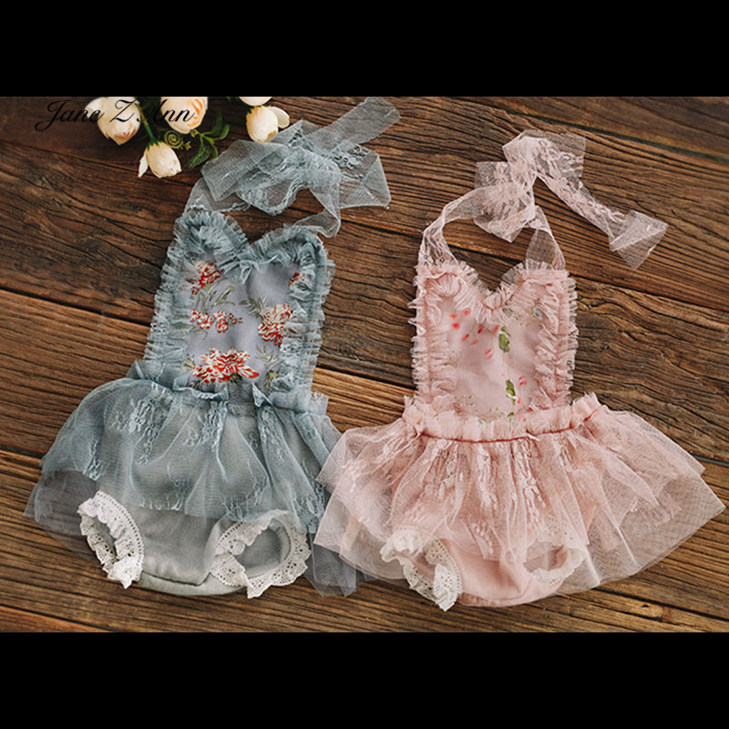 Jane Z Ann Baby Girl Princess Lace Back Off Dress Newborn Photo Clothing Studio Shooting Props 2 Colors Dress Headband Hats Caps Aliexpress