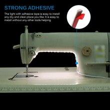 Швейная машина светодиодный свет комплект полосы света 18 м 360lm гибкая USB лампа для шитья 200 см промышленная машина Рабочий СВЕТОДИОДНЫЙ свет