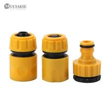 MUCIAKIE 3 sztuk łącznik Adapter taśma kroplująca podlewanie nawadniania kran wąż złącze z 1/2 3/4 mężczyzna ogród złącza wody