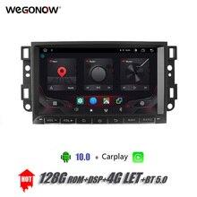 """8 """"DSP Android10.0 4GB + 128G samochodowy odtwarzacz DVD odtwarzacz GPS mapa carplay WIFI Bluetooth RDS Radio dla chevroleta Epica Aveo Captiva 2004  2012"""