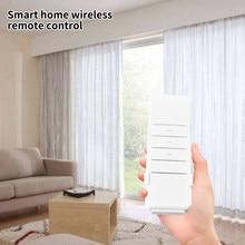 Dc2700 sensível a pilhas de controle remoto plástico profissional compacto casa acessórios para dooya motor cortina elétrica