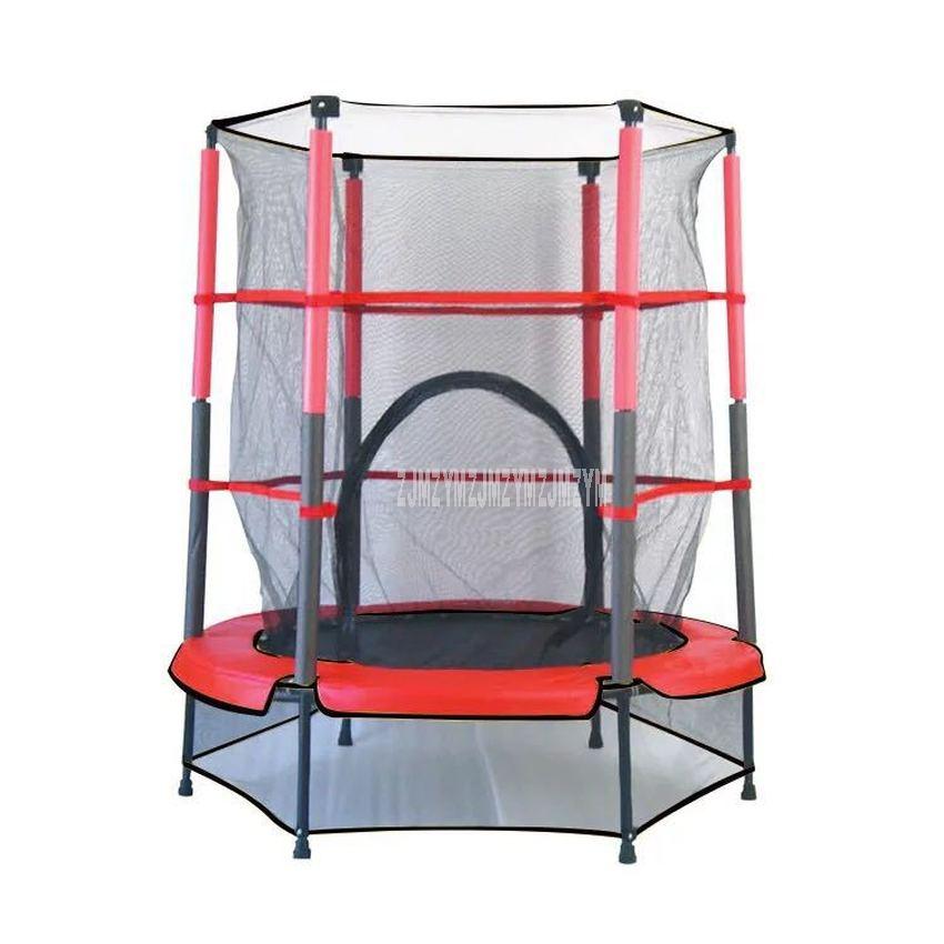 Średnica 38 cali trampolina, mężczyźni i kobiety przenośna trampolina, czterokrotnie PP strach Fitness odbijanie łóżko materiał PVC TX-6386