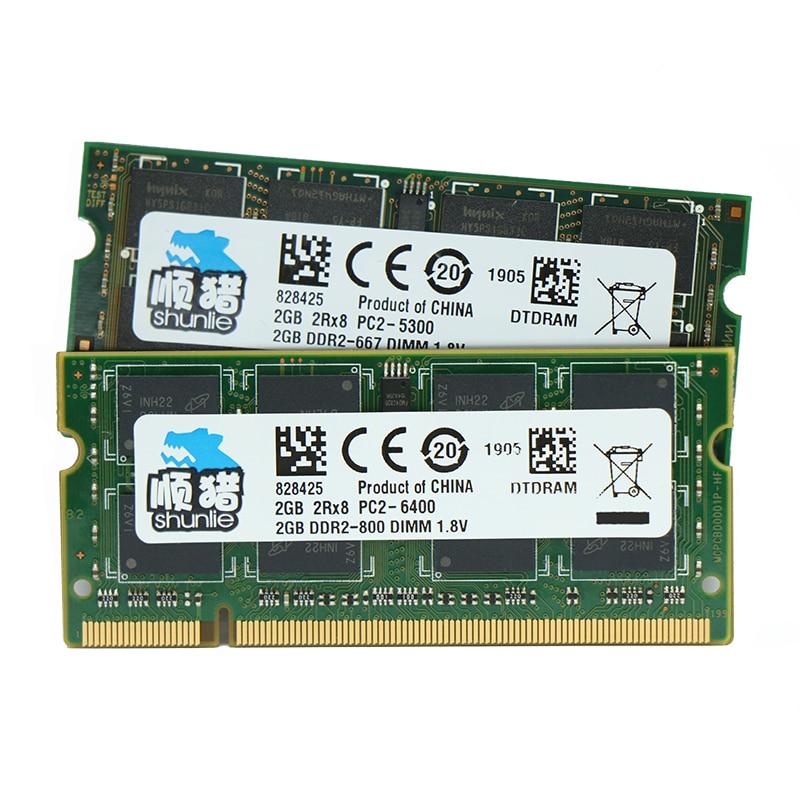 DDR2 2GB 4GB Ram 667MHz 800MHz 1.8V Laptop Sodimm Memory
