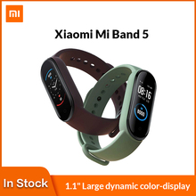 Smart Bracelet Mi-Band Xiaomi Amoled-Screen Bluetooth 5-Fitness-Tracker Sport Waterproof
