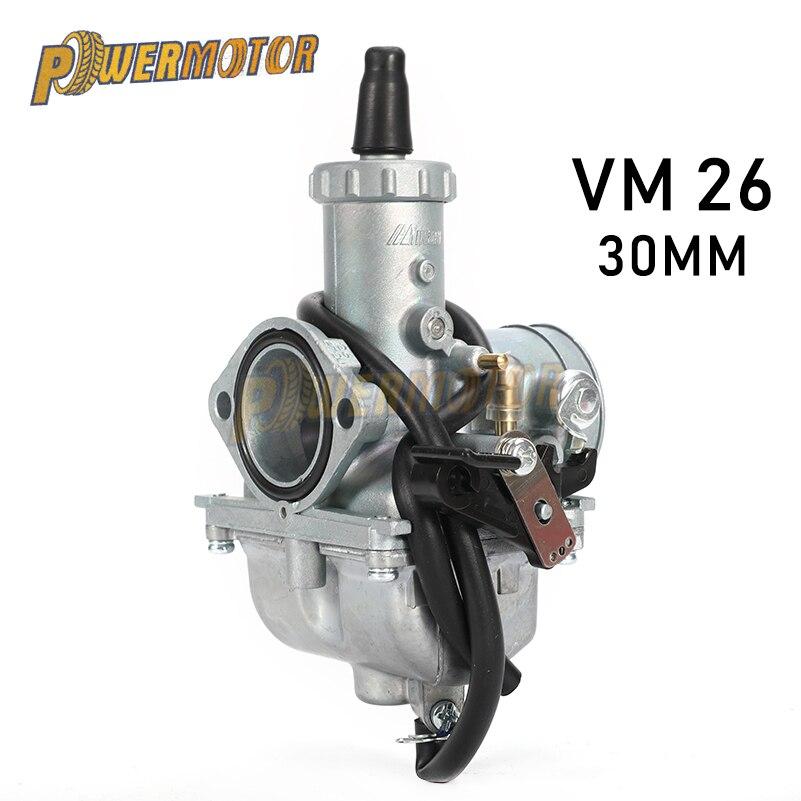 Карбюратор Mikuni для мотоцикла, КАРБЮРАТОР Mikuni VM26 30 мм для автомобиля 150cc 160cc 200cc 250cc CRF KLX TTR XR Pit, мотоцикл для грязи