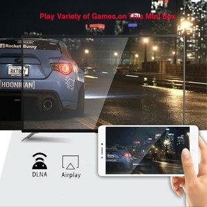 Image 5 - تي في بوكس أندرويد 10.0 H96 ماكس Rockchip 32GB 64GB أندرويد فك التشفير بلوتوث 2.4/5.0G واي فاي 4K ثلاثية الأبعاد الذكية التلفزيون وسائل الإعلام مشغل جوجل