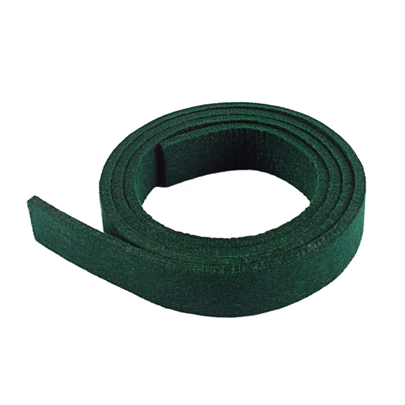 Green Piano Spring Rail Felt For Piano Repair Replacement Parts Piano Spring Rail Felt