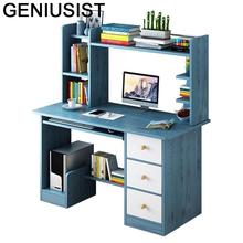 Wsparcie Ordinateur przenośne łóżko biurowe Scrivania Ufficio biuro Meuble Lap Mesa podstawka do laptopa stół biurkowy z półką tanie tanio GENIUSIST NONE HOME CHINA Laptop biurko