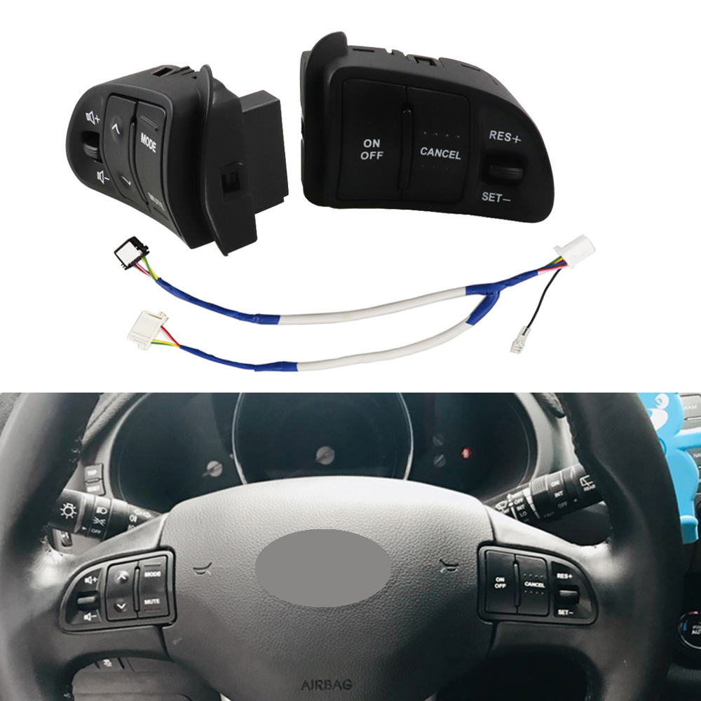 Multifunction Steering <font><b>Wheel</b></font> Button For <font><b>KIA</b></font> <font><b>Sportage</b></font> Audio Volume Speed Cruise Control Buttons Switch With Backlight <font><b>Car</b></font> Parts image