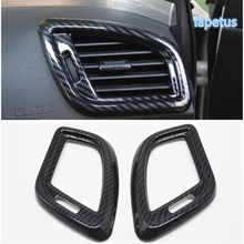 Lapetus Side Dashboard Air Conditioning AC Outlet Vent Decoration Frame Cover Trim ABS Fit For Nissan Murano 2015 2016 2017 2018
