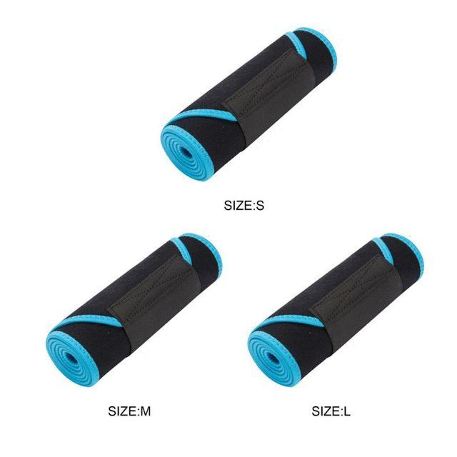 Waist Trainer Hot Sweat Belt Body Shaper Adjustable Warming Waist Protect Weight Fitness Belt 5