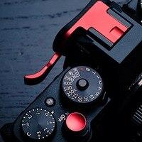 Pro pionowy L typ wspornik statywu szybki uchwyt płytki kciuk reszta uchwyt na kciuk Hot Shoe dla Fujifilm XT10 XT20 XT 10 XT 20 w Monopody od Elektronika użytkowa na