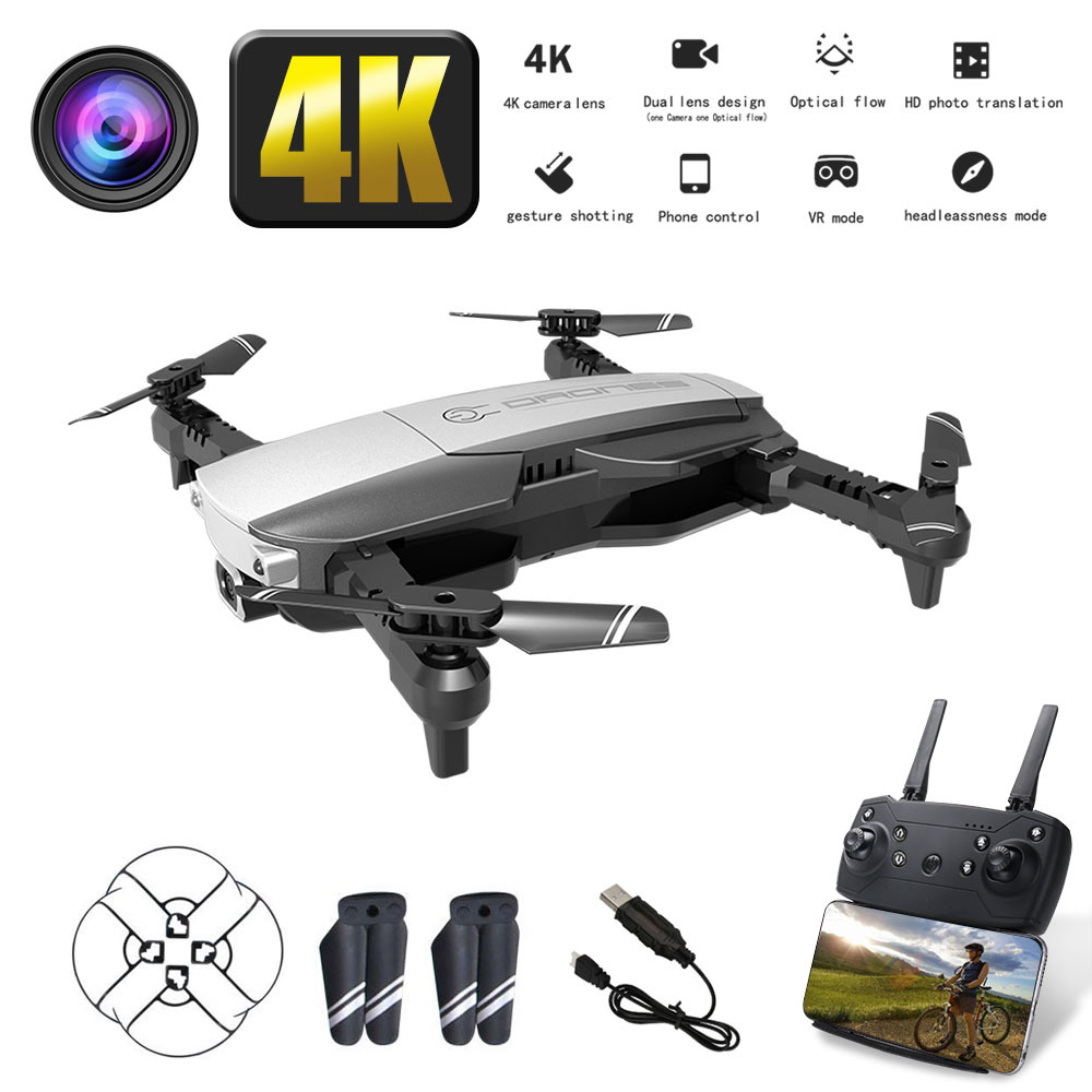 New <font><b>H3</b></font> <font><b>drone</b></font> 4K <font><b>HD</b></font> aerial camera quadcopter optical flow hover smart follow camera remote control helicopter with camera image