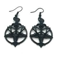 Модные Винтажные женские пентаграмма Пан Бог череп козье ожерелье