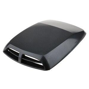 Image 2 - 1 Cái Đa Năng Ô Tô Xe Máy Hút Trang Trí Máy Muỗng Turbo Bonnet Thông Hơi Bao Nhựa ABS 12.8*9.8*2 Inch Kiểu Dáng Xe