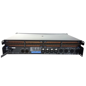 Image 3 - Leikozic 2500w 10000q 4 canais classe amplificador de potência td linha matriz amplificador poderoso desempenho de estágio profissional de áudio