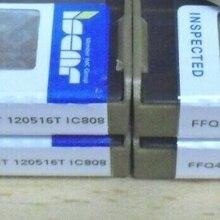 10 pces carboneto de inserção ffq4 somt 120516t ic808