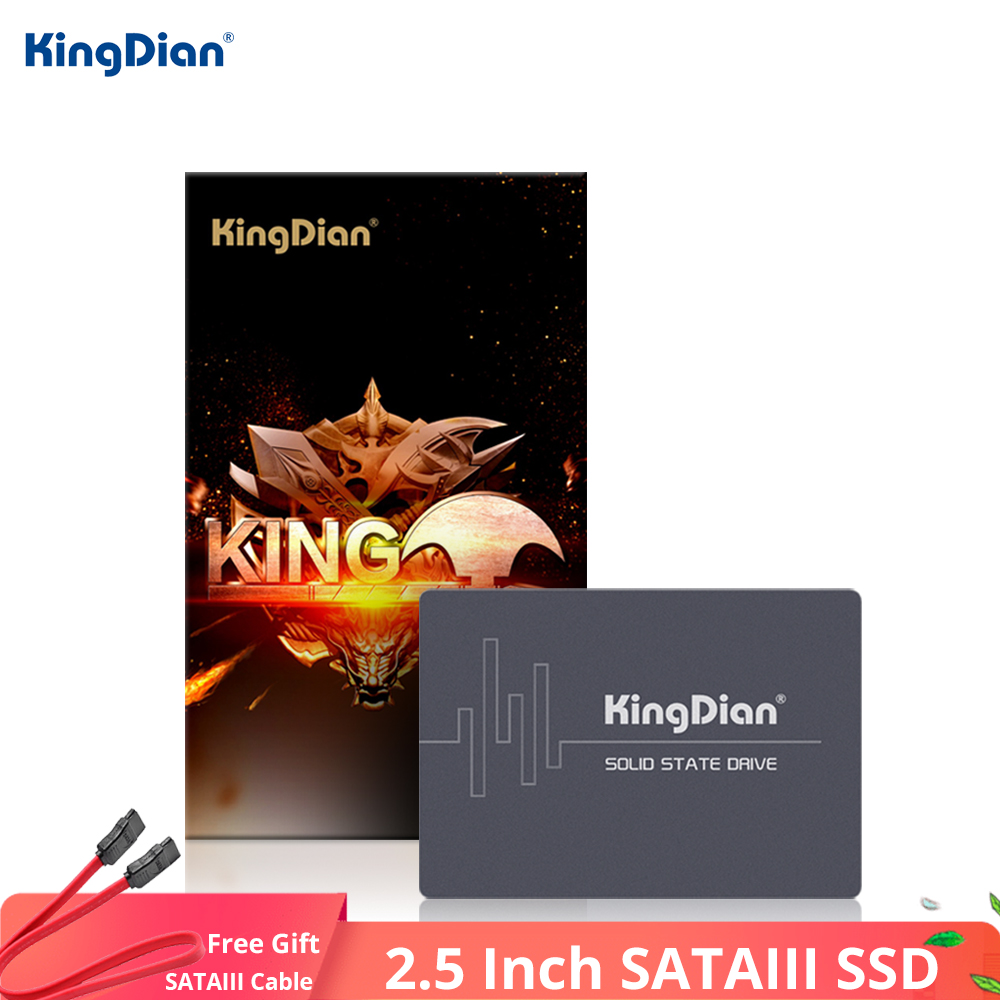 KingDian SSD 1TB 480GB SATA HDD 2.5 SSD 2TB 512GB Internal Solid State Drives SSD Hard Disk SATAIII 3 For Computer Laptop