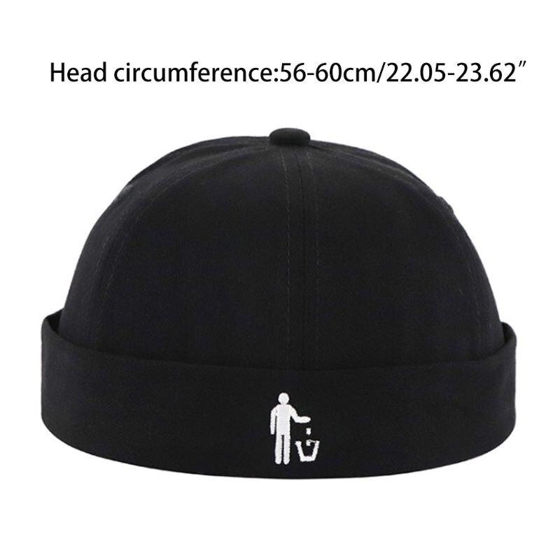 Skullcap Hat Cap Casual Sailor Biker Solid Color Adjust Brimless new Hot sale