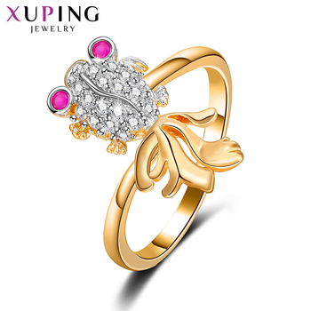 Xuping Fashion Ring High Quality Charm Design Rings jewelry Promotion Wedding Gift for Women 11026