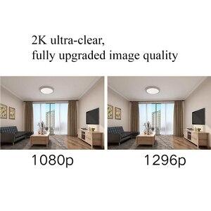 Image 2 - Xiaomi Mijia חכם IP מצלמה 2K 1296P 360 זווית וידאו CCTV WiFi ראיית לילה אלחוטי מצלמת אבטחת מצלמת Mi בית תינוק צג