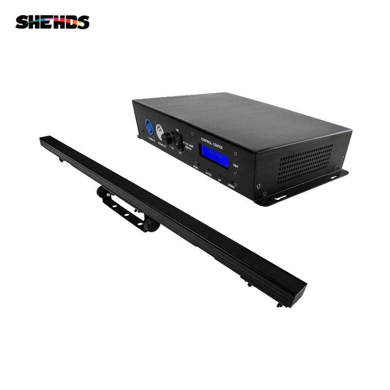 SHEHDS LED Pixel 40x0.3W Strip Light+Pixel Lighting Decode RJ45 Connector DMX Art-Net Control Program Wash Effect Stage Lights