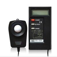 TES-1330A medidor de luz lux do iluminômetro do medidor 0.01 --- 20000lux