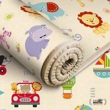 Детский Блестящий игровой коврик, Складной Игровой Коврик-головоломка для младенцев, 180*150*0,5 см, пенопластовый коврик для ползания, упаковка и игровой матрас