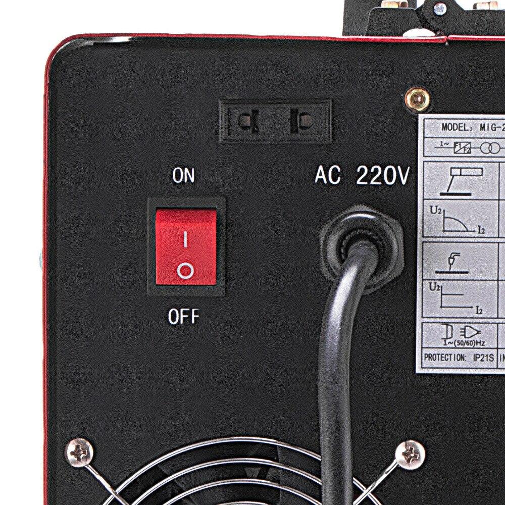 MIG 280A IGBT инвертор сварочный аппарат MIG & MMA 2 в 1 портативный сварочный аппарат 220 В/110 В