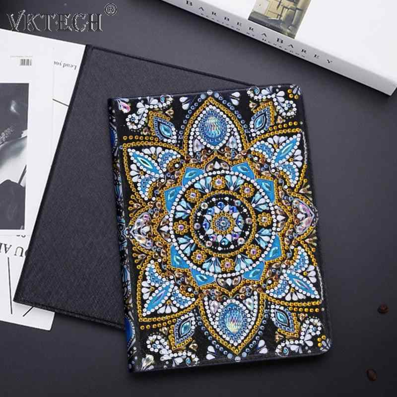 5D DIY Special Shaped Diamond Painting Tablet Case for iPad Mini 1//2//3//4 Cover