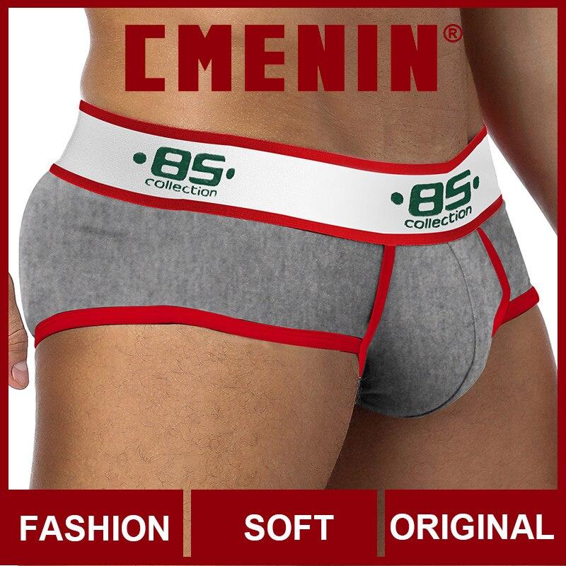 Sissy Cotton Breathable Mens Briefs Underwear Shorts BS Low Waist Men's Underwear Sexy Gay Men Underwear Bikini Men Briefs Top