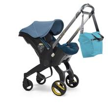 Автомобильное сиденье 4 в 1, коляска для новорожденных, детская коляска, люлька, портативная система для путешествий, коляска с автомобильны...