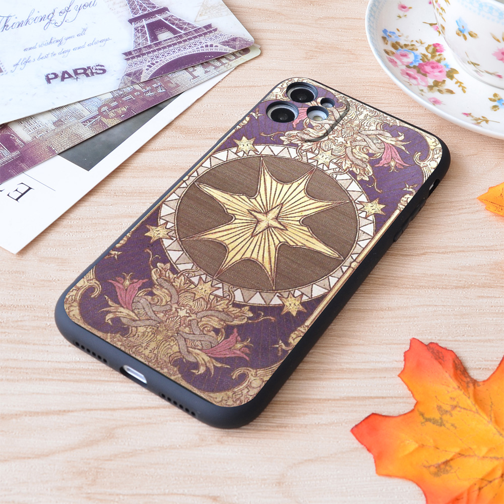 Ffxiv Astrologian Card Print Soft Silicone Matt Case For Apple iPhone Case