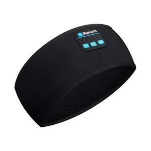 Повязка на голову для бега, вязаная Беспроводная гарнитура Bluetooth 5,0, спортивные наушники, фитнес, Йога, повязка на голову