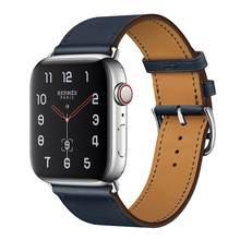 Высококачественная кожаная Петля для iwatch series 5 4 3 2 1 40 мм 44 мм ремешок для Apple Watch Band 38 мм 42 мм