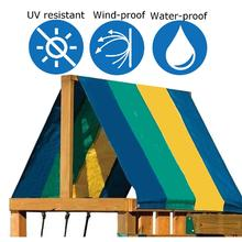 Roof-Sunshade Awning Waterproof Cover Tarp Playground Replacement 132--228cm