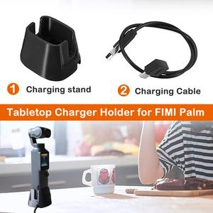 Image 5 - Extension de support de support de support de socle de Charge avec câble de Charge pour chargeur de cardan de caméra portable FIMI PALM