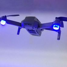 1 conjunto de flash luzes led noite vôo holofote lanterna anti perdido holofote para dji mavic mini drone acessórios