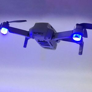 Image 1 - 1Set Flash LED Lights Night Flight Searchlight Flashlight Anti Lost Searchlight for DJI Mavic Mini Drone Accessories